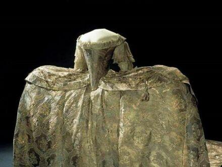 Suknia ślubna Zofii Magdaleny Oldenburg, 1766