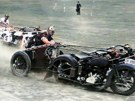 Współczesne wyścigi rydwanów