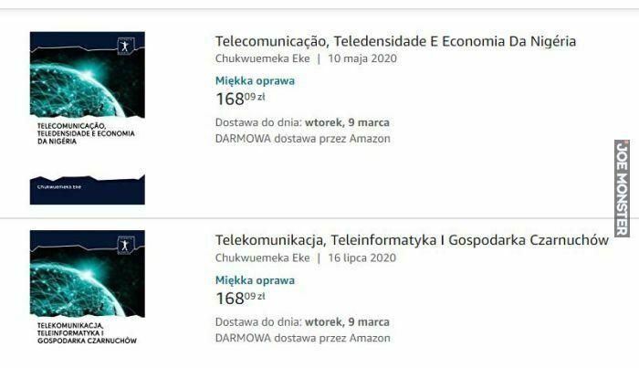 telekomunikacja teleinformatyka gospodarka czarnuchów