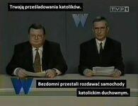 W Polsce skandal goni skandal