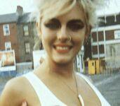 Elizabeth Hurley w wieku 18 lat w 1983 r.