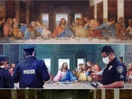 Judasz doniósł i koniec imprezy