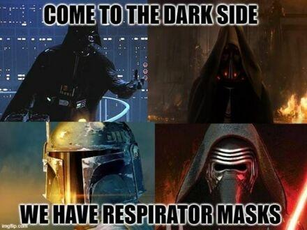 Przejdź na Ciemną Stronę, mamy respiratory