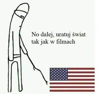 USA, obudź się!