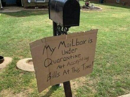 Moja skrzynka pocztowa jest w kwarantannie, nie akceptuję w tym czasie rachunków