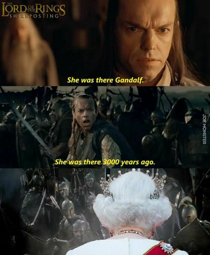 she was there gandalf