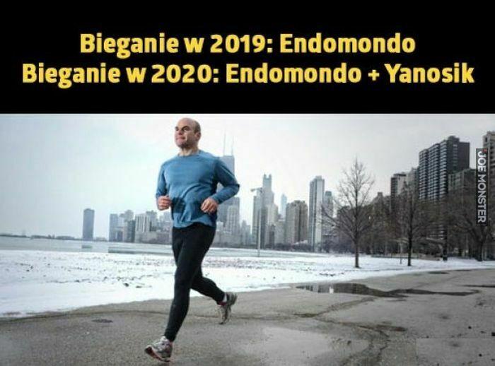 bieganie w 2019 endomondo