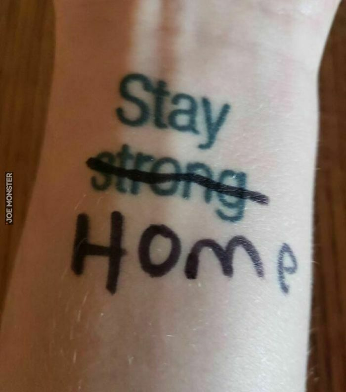 stay strong home