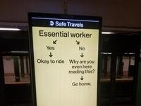 Transport tylko dla kluczowych pracowników