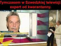 Szwedzki ekspert ds. kwarantanny