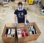 Ponad 500 masek ochronnych dla szpitali wykonanych w drukarce 3D
