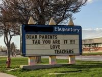 Drodzy rodzice. Berek, teraz wy! Nauczyciele.