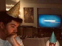 Urodziny podczas kwarantanny