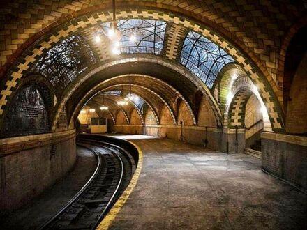 Opuszczona stacja metra w USA