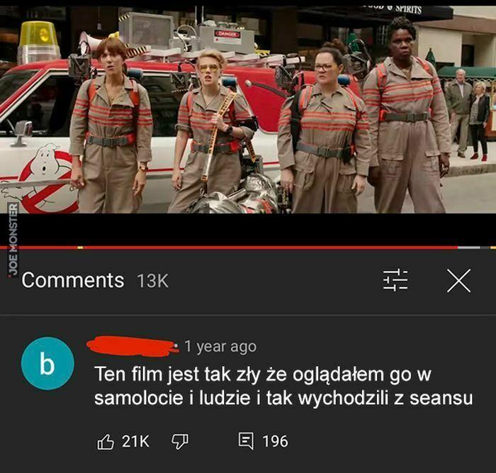ten film jest tak zły
