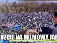 Jasna Góra - zlot 10 tysięcy motocyklistów podczas epidemii