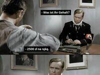 Nawet nazwisko Brzęczyszczykiewicz nie wywołało takiego zdumienia na twarzy Niemca