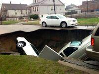 Ach, te dziurawe osiedlowe uliczki