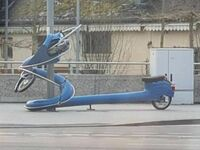 Zakręcony skuter