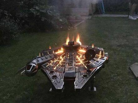 Grill dla fana Gwiezdnych Wojen