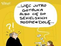 Tymczasem w jakiejś parafii w Polsce