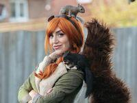 Bardzo udany cosplay Squirrel Girl