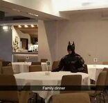 Smutny rodzinny obiad