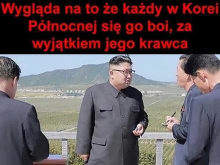 Facet z największymi jajami w całej Korei Północnej