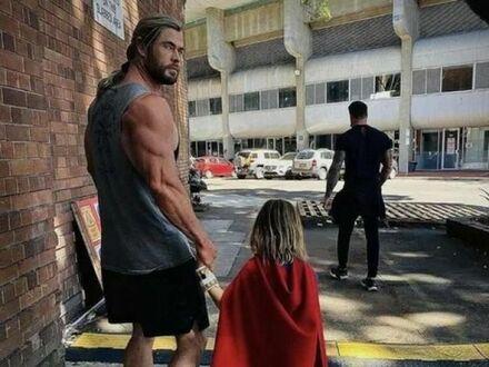 Thor to dobry ojciec
