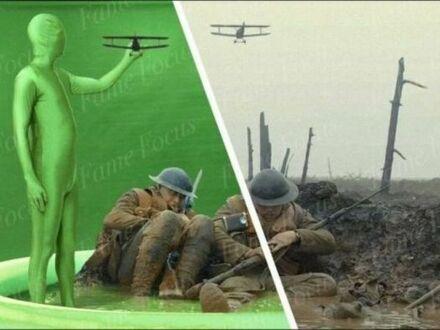 Kulisy kręcenia filmów wojennych