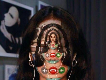 Makijaż inspirowany rozmową online