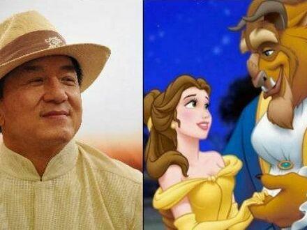 Jackie Chan podkładał głos Bestii w chińskiej wersji bajki i sam śpiewał wszystkie piosenki