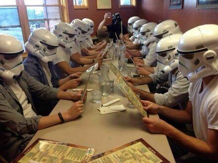 Obiad Ciemnej Strony Mocy