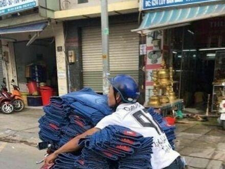 Przewóz spodni