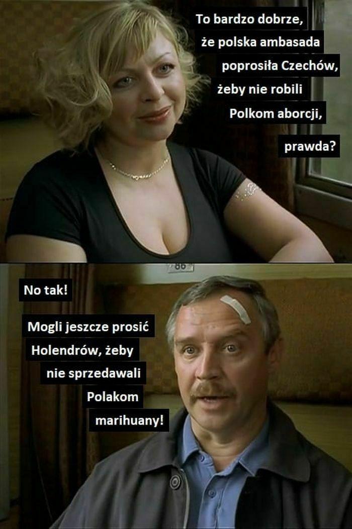 to bardzo dobrze że polska ambasada poprosiła czechów