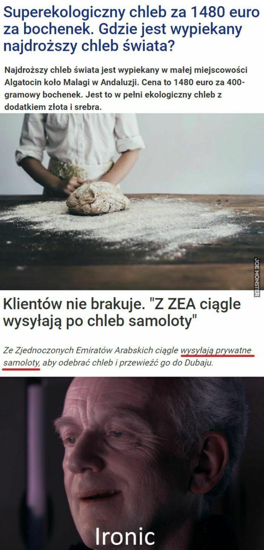 superekologiczny chleb za 1480 euro