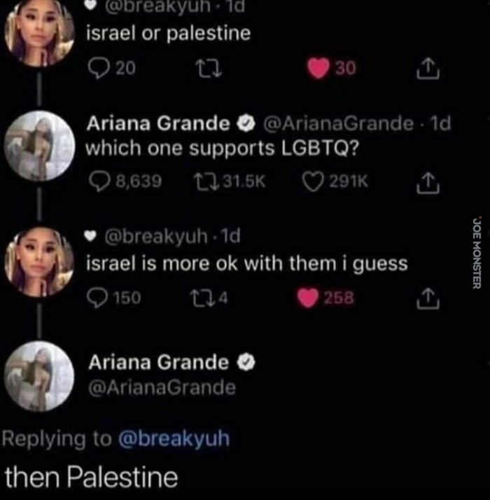 israel or palestine which one supports