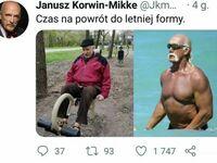 Janusz w drodze po wymarzoną sylwetkę