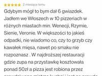 Bardzo emocjonalna recenzja, chyba pizzerii