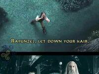 Roszpunko, rozwiń swoje włosy!