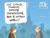 W całej Polsce Covid, a w Warszawie jeszcze Czajka