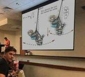 Kontrowersyjna lekcja fizyki