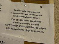 Szczeciński lifehack dla palaczy