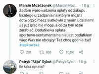 Były reprezentant Polski w siatkówce z rigczem
