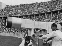 Kamera telewizyjna z letnich IO w Berlinie w 1936 r.