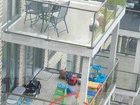 Ryzykowne miejsce na trampolinę