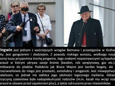 Czarny bohater sagi Batmana pochodzi z Polski