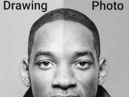 Rysunek vs zdjęcie