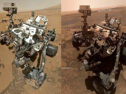 Nasz przyjaciel na Marsie zrobił sobie selfie, które pokazuje jak zmienił się przez ostatnie 7 lat