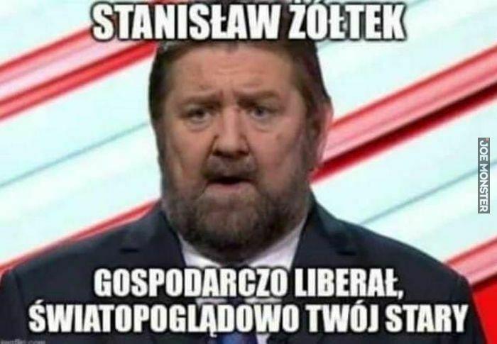 stanisław żółtek gospodarczo liberał
